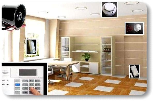Idk kit d alarme sans fil avec transmetteur telephonique for Adt alarme maison